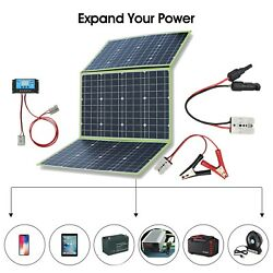 100w 150w Foldable Portable Solar Panel Phones Rv/camping/power Station Charger
