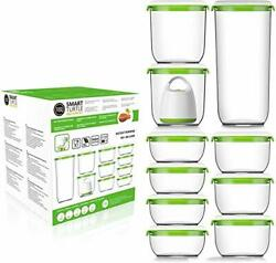 Fosa Vacuum Seal Food Storage System Reusable Container Deluxe Set With Vacuum