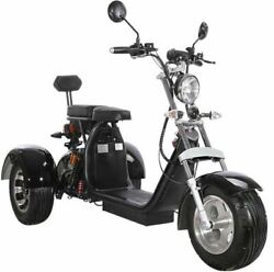 New Electric 3 Wheel Trike Scooter Golf Cart Harley Chopper Mobility Motorcycle