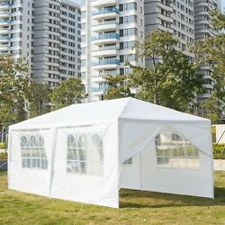 10 X 20 Outdoor Party Wedding Tent Canopy Camping Gazebo Storage Bbq Shelter P