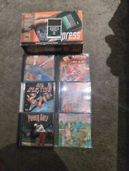 Turbo Express Boxed With Upgraded Color Lcd And Games Lot Rare