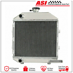 Sba310100211 1942smp130486 Aluminum Radiator With Cap For Ford 1300 Tractor