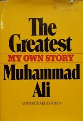 Muhammad Ali1942-2016 The Greatest My Own Storysigned Copy