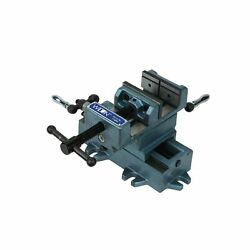 Wilton Tools 11694 4-inch Cross Slide Drill Press Vise 20 Lb V Grooved Jaws Hold