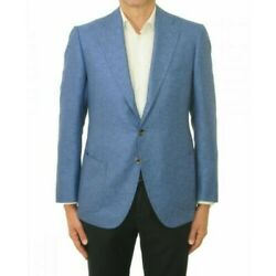 Attolini Menand039s Jacket Gus35 S17ma19/a21 Blue