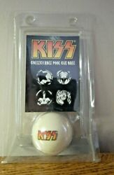 2007 Kiss Collectible Pool Cue Ball - Regulation Weight And Size New Unused
