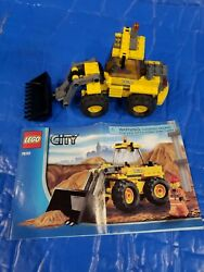 Lego City Construction Front-end Loader 7630 With Manual Used