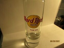 Collectible - Hard Rock Cafe 4 Shot Glass From Tokyo, Japan.- New