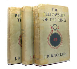 J. R. R Tolkien Lord Of The Rings Fellowship Of Ring, Two Towers 1st Return King