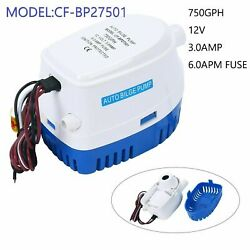 Automatic Submersible Boat Bilge Water Pump Built-in Float Switch-12v 750gph