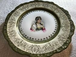 Antique Collectable Classical Plate From Royal Sane E.s. Germany