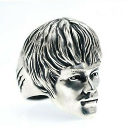 Martial Arts Master Bruce Lee Silver Ring Menand039s Personalize Gift Original Design