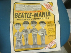 Beatle-mania Antiques And Collectibles 1979 The Beatles Antique Paper Magazine