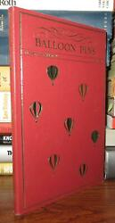 Prell, Frank Balloon Pins The Definitive Reference 1st Edition 1st Printing
