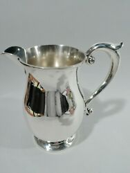 Water Pitcher - 336 - Antique Colonial - American Sterling Silver