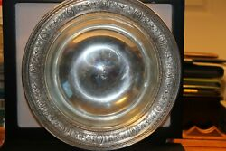 Wedgwood J.e.. Caldwell Sterling D51 Patened 10 W 2 L Serving Bowl Monogramed