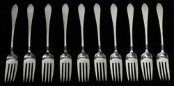 And Co Faneuil 10 Sterling Silver 6 1/4 Youth Forks
