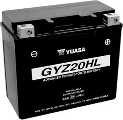 Factory Activated Agm Maintenance Free Battery Gyz20hl Sea-doo Gtx 215 2016