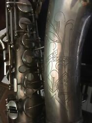 Conn 6m Viii Alto Saxophone Silver Plate Rolled Toneholes Restored