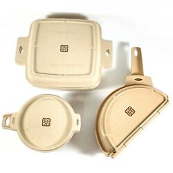 Littonware Microwave Conventional Convection Cookware Set Of 3 See Description