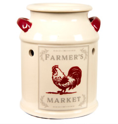 Better Homes And Gardens Full Size Wax Warmer, Farmhouse Milk Can