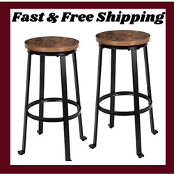 Bar Stools For Kitchen 29 Pub Height Chairs With Metal Frame Backless Bar Chair