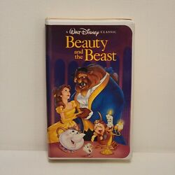 Beauty And The Beast / Black Diamond / Disney Classic Collection /vhs Movie 1992
