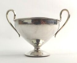 Omar Ramsden Bowl Arts And Crafts Nut Sweetmeat Solid Sterling Silver London 1935