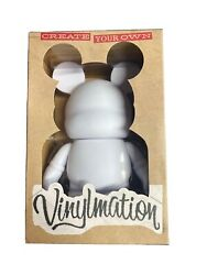 Disney Vinylmation Create Your Own Blank White New In Box Hard To Find Custom 9