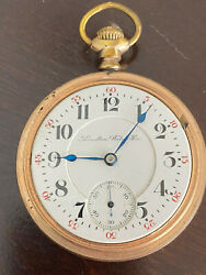 Vintage 18s Hamiltion Pocket Watch, Grade 940, From 1904, Running Andkeeping Time