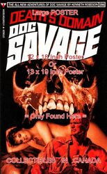 Doc Savage 184 Fantasy Cover Skull Nude Woman =poster Book 3 Sizes 17-18-19