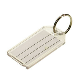 Lucky Line Extra Strength Clear Key Tag - Pack Of Two - 204