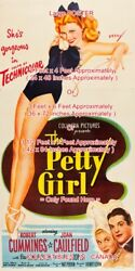 The Petty Girl 1950 George Pin-up Sexy Bathing Suit =poster 3 Sizes 4 / 6 / 7 Ft