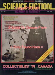 Sci-fi Horror And Fantasy 1977 1 Darth Vader=poster Comic Book 8 Sizes 18-3 Feet