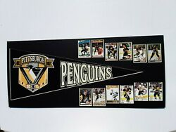 Pittsburgh Penguins History--pennant And Cards