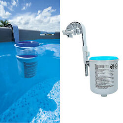 Pool Wall Mount Surface Skimmer Swimming Pool Cleaner Absorb Floating Debris