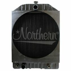 Made To Fit White Tractor Radiator 303158284 2-85 2-105 Large Diameter Fan Hole
