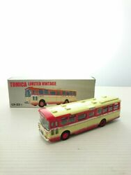 Tomytec Minicar/ Tomica Limited Vintage Hino Rb10keio Electric Railway Bus Red