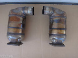 Porsche 991 Turbo 997 Turbo Gt 2 Rs Original Used Exhaust Cat And039s Right And Left