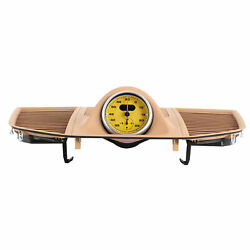 Dash Clock Instrument Panel Upper Cover Car Replacement Beige Fit For M