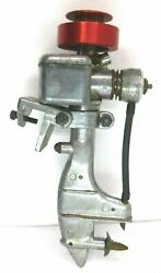 Original 1954 Atwood Model Boat Gas Powered Outboard Motor .051
