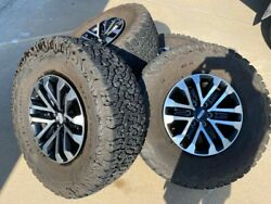 Ford Raptor Oem Wheels And Bf Goodrich Ko2 Tires / Excellent Condition