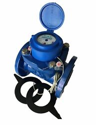 Dae Wp-300p 3 Woltmann Helix Water Meter, Pulse Output, Gallon