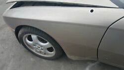 Porsche 944 Left Front Fender In Gold Used 84 Imperfections
