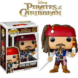 Funko Pop Disneyand039s Pirates Of The Caribbean Jack Sparrow Collection Model Figure