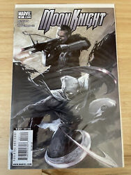 Moon Knight 27 2009 Dell'otto 1st Toltec Punisher Appearance Marvel
