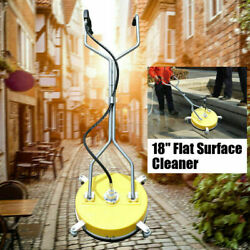 18 Flat Surface Andconcrete Cleaner 4000psi 275bar Pressure Cold/hot Water Washer