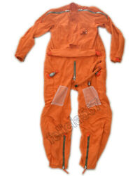 Air Force Mig Fighter Pilot High Altitude Anti Gravity Flying Suit 1 Largest