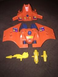 Kenner Centurions Sea Bat Parts Lot 1986 With Stickers Euc