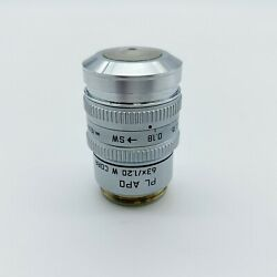 Leica Microscope Objective Pl Apo 63x W Water Immersion 506131